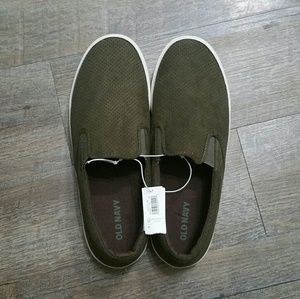 Old Navy Shoes - NWT Men's OLD NAVY Green Slip Ons Green Shoes 11
